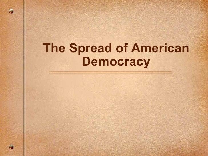 Spread Am Democracy