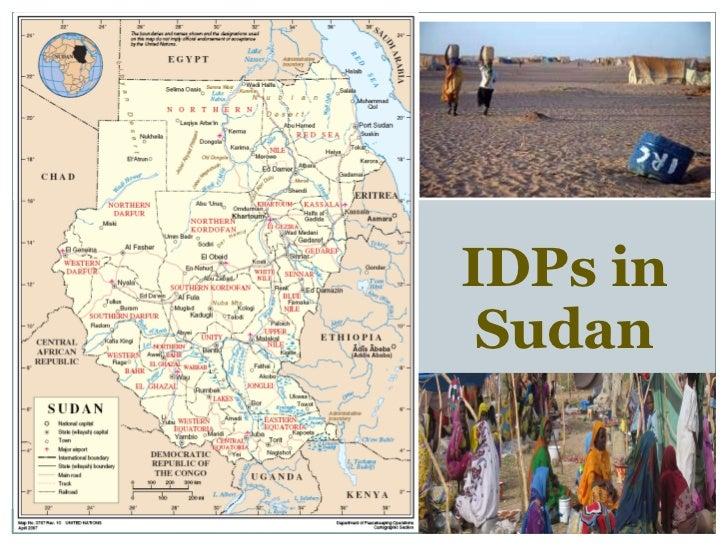 IDPs in Sudan
