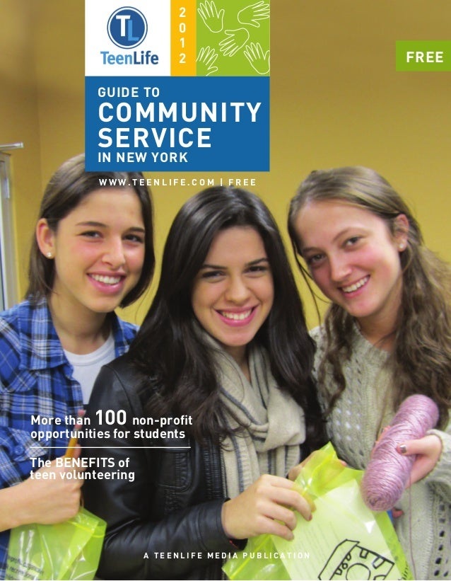 TeenLife 2012 Guide to Community Service in New York