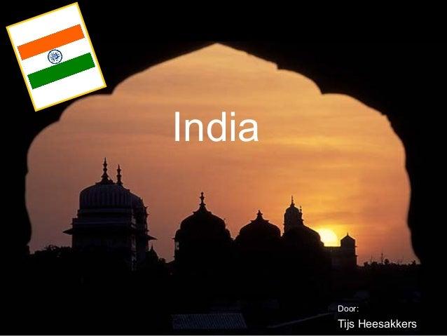 India  Door:  Tijs Heesakkers