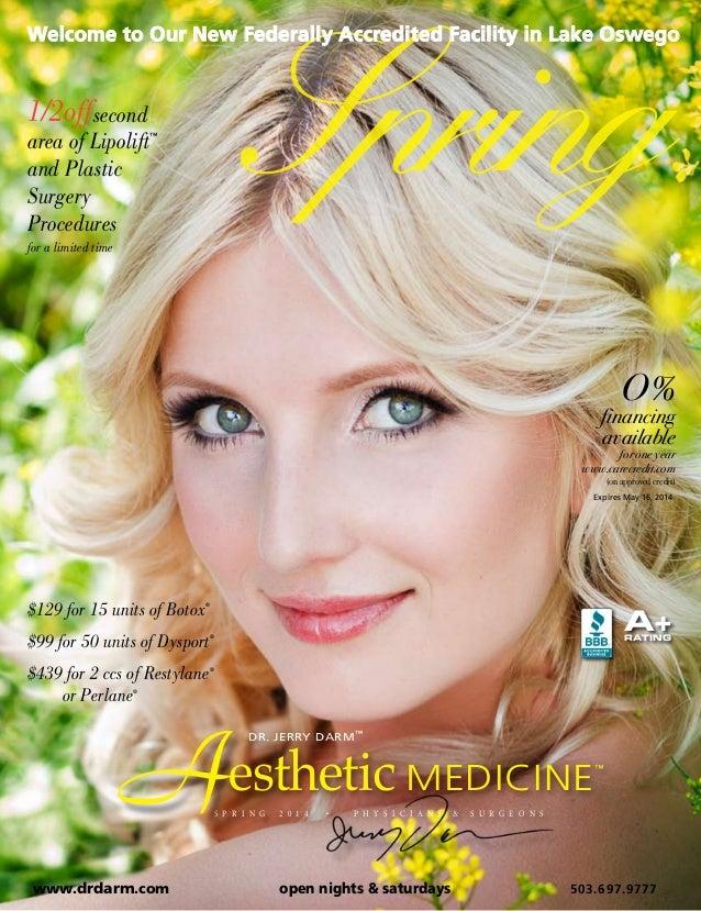 Dr. Darm, Online Brochure - Spring 2014