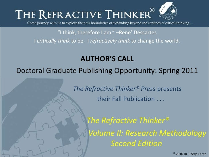 Spring 2011 RT Authors Call