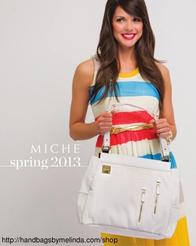 Miche Spring 2013 Catalog from HandbagsByMelinda.com