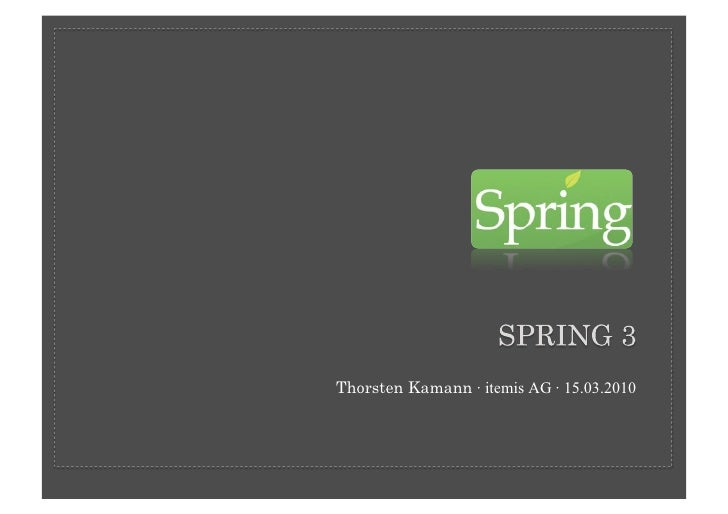 Thorsten Kamann · itemis AG · 15.03.2010