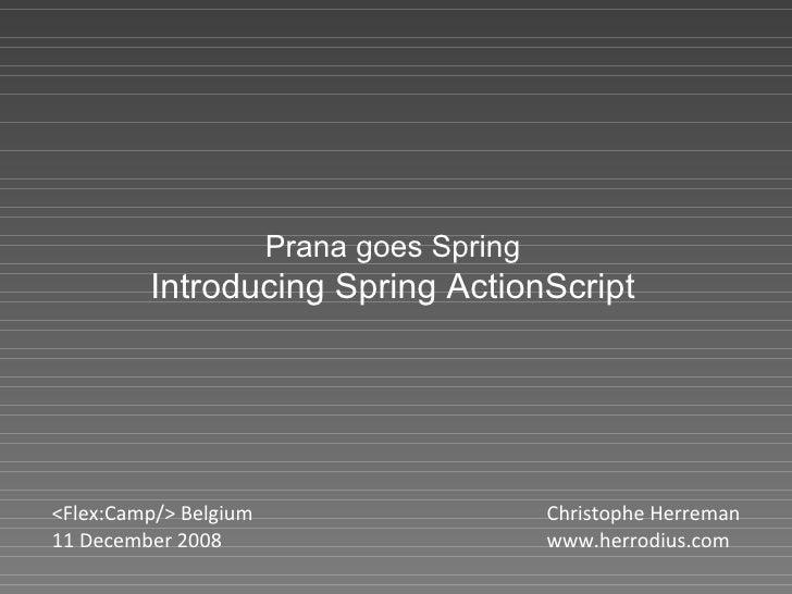 Spring ActionScript