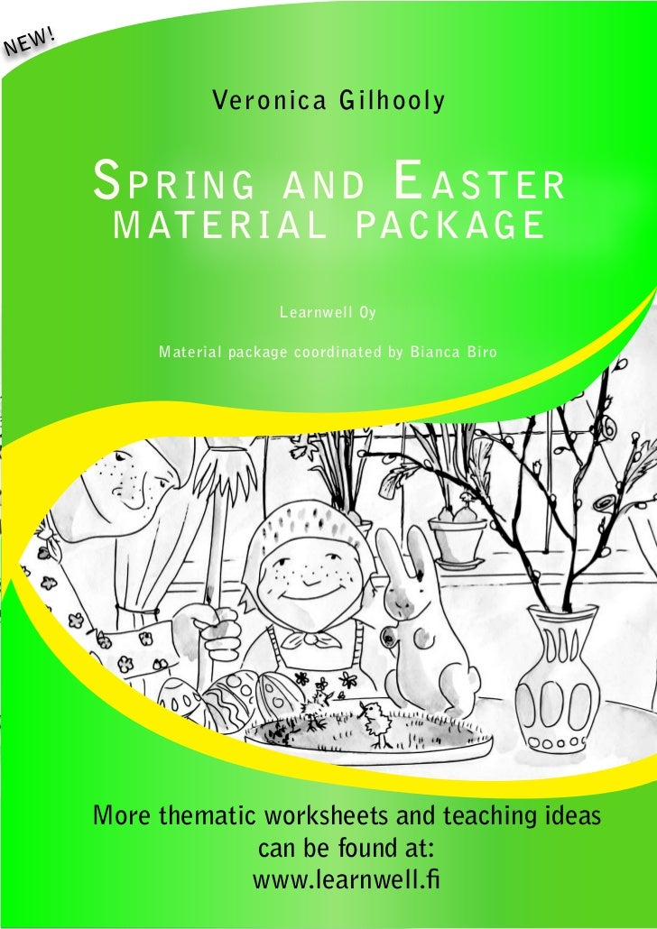 Spring and Easter Material Package 2012 by learnwell