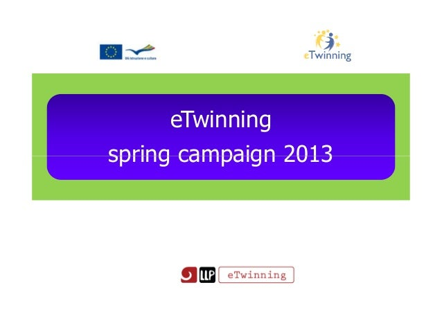 eTwinningspring campaign 2013spring campaign 2013