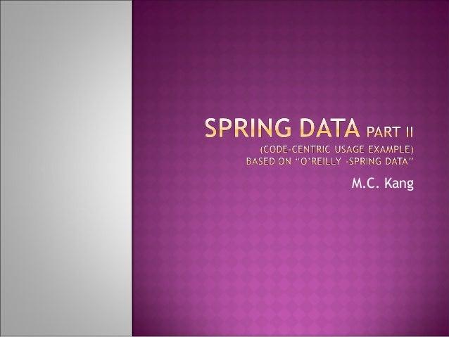 Spring data ii
