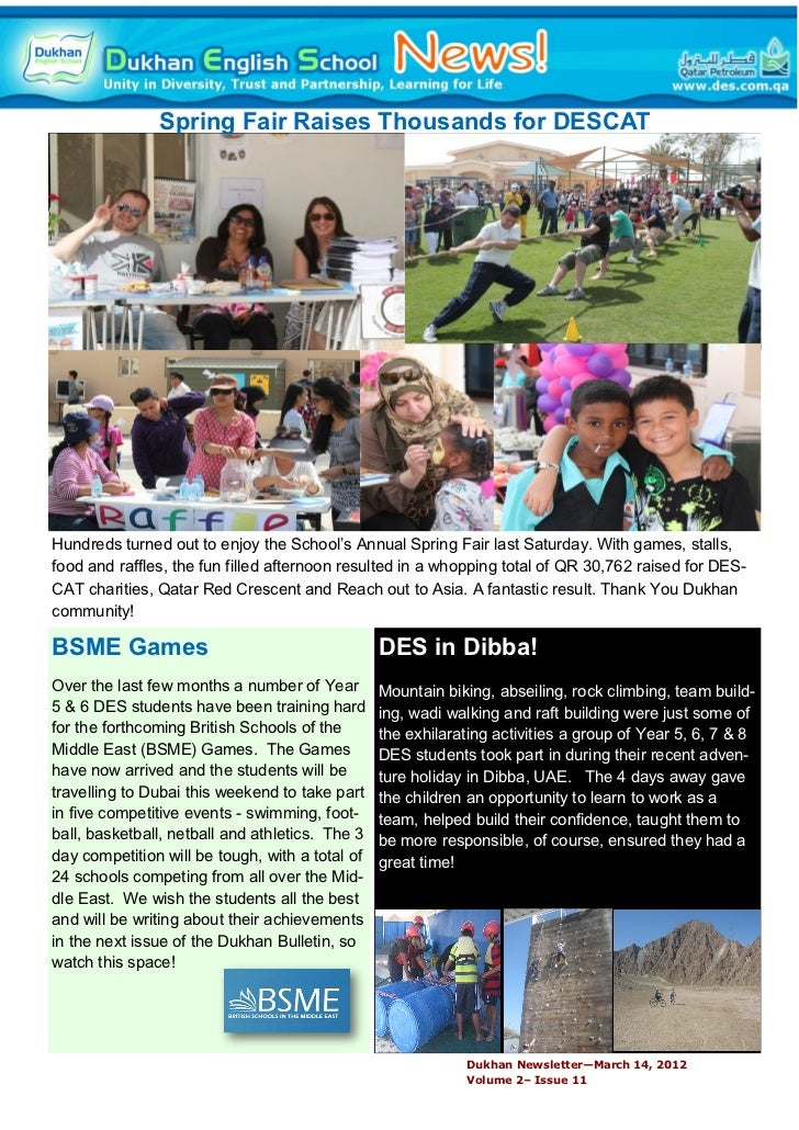 Spring fair2012 dukhan english school