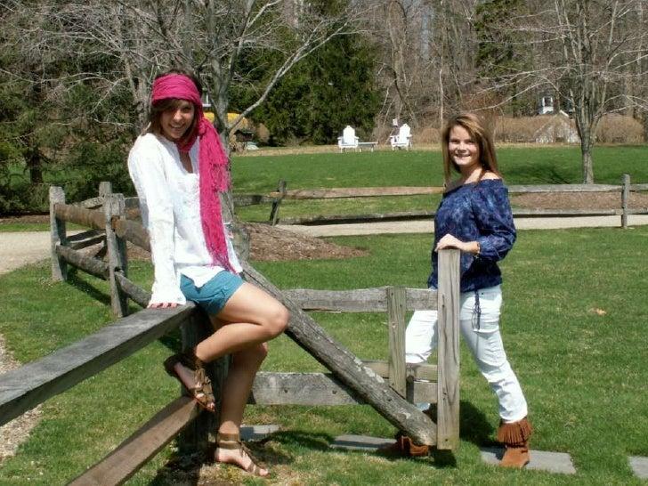 Spring Fashion Shoot  Models: Ayla Peacock     and Morea Kane Photographer: Ellie Bold     Clothing Stylists:  Chelsea Rob...