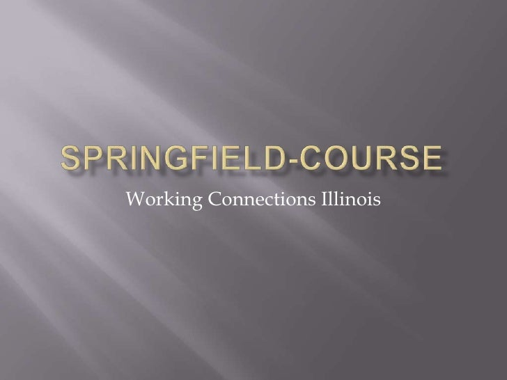 Springfield Course