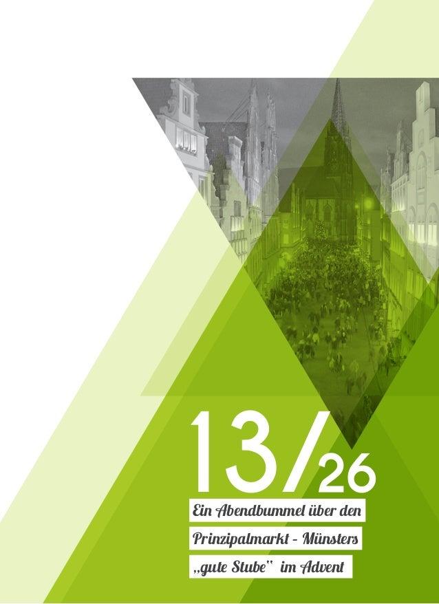 """Ein Abendbummel über den Prinzipalmarkt – Münsters """"gute Stube"""" im Advent 13/26"""