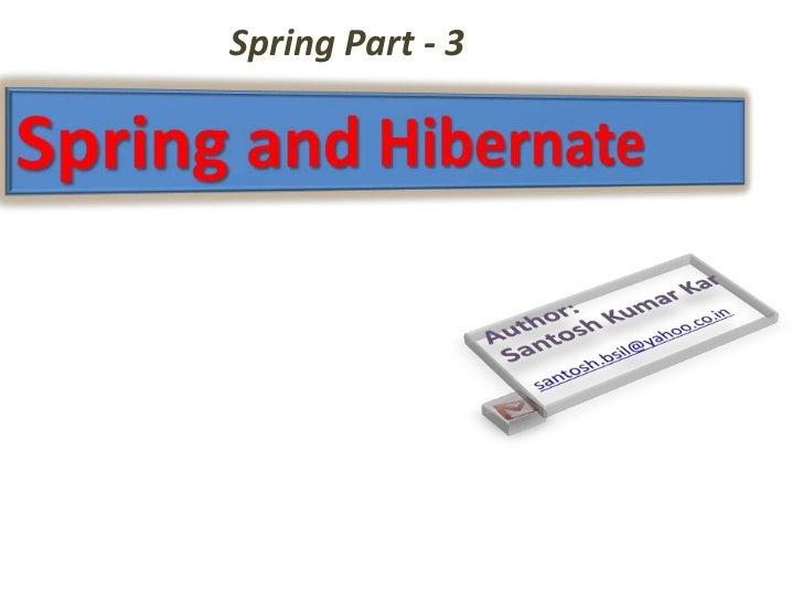 Spring Part - 3