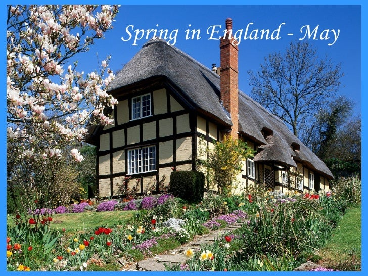 Spring in England - May