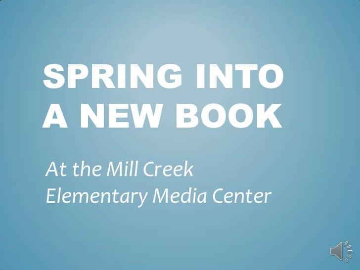 Spring into a new book