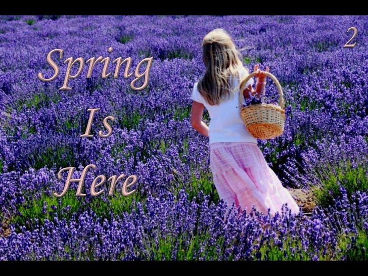 2<br />Spring<br />Is<br />Here<br />