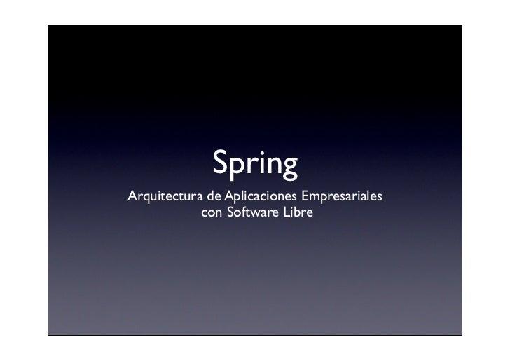 Spring @ Fonasol