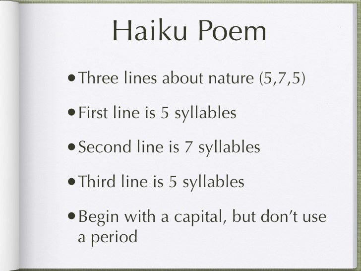 Haiku Poems Examples | Haiku Poems About Friendship We have never ...