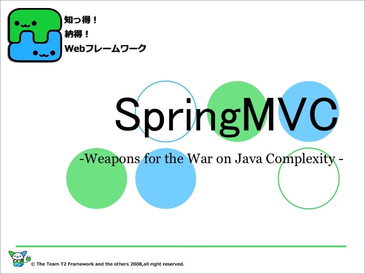 -Weapons for the War on Java Complexity -
