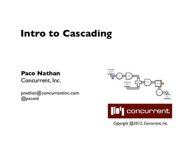 Intro to CascadingPaco Nathan                            Document                            Collection                   ...