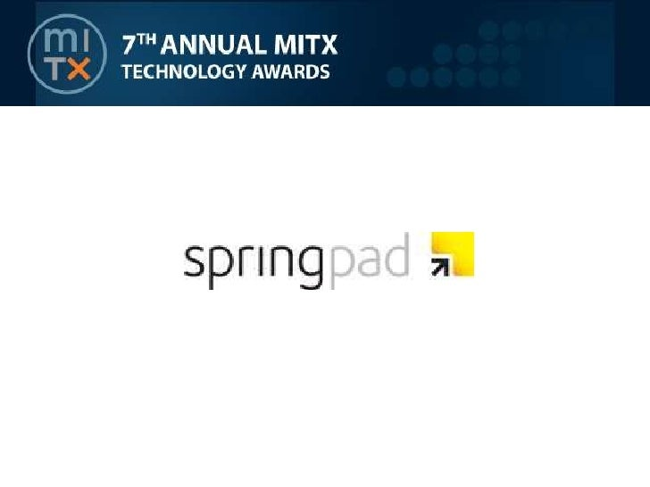 Springpad finalist interview