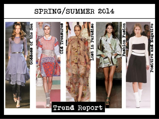 Spring summer 2014 trend presentation new