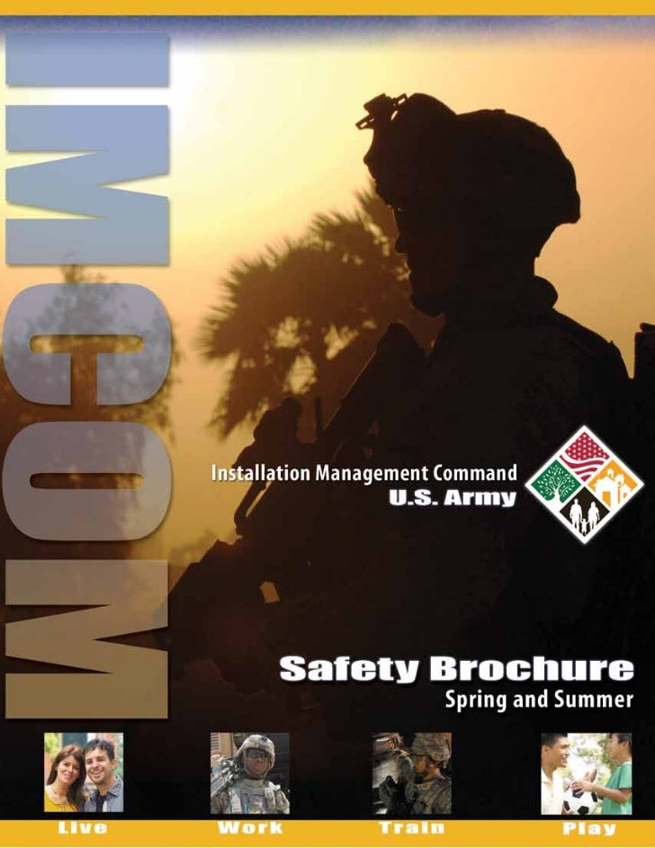 Spring-Summer Safety Brochure - IMCOM Safety Office