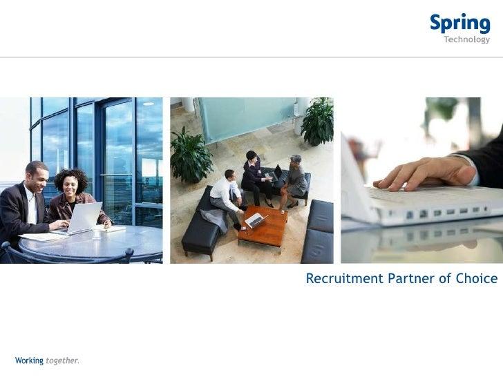 Recruitment Partner of Choice