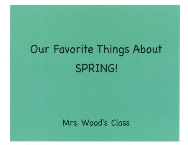 Our Favorite Things About Spring