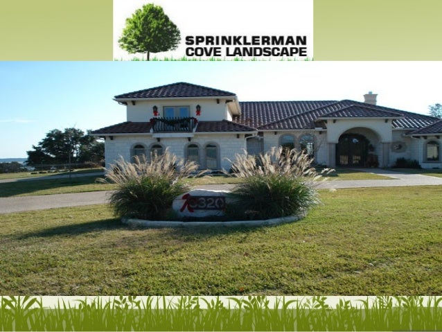 Sprinklerman Cove Landscape provides landscape, hardscape and irrigation services in Killeen and Temple, Texas. www.sprink...