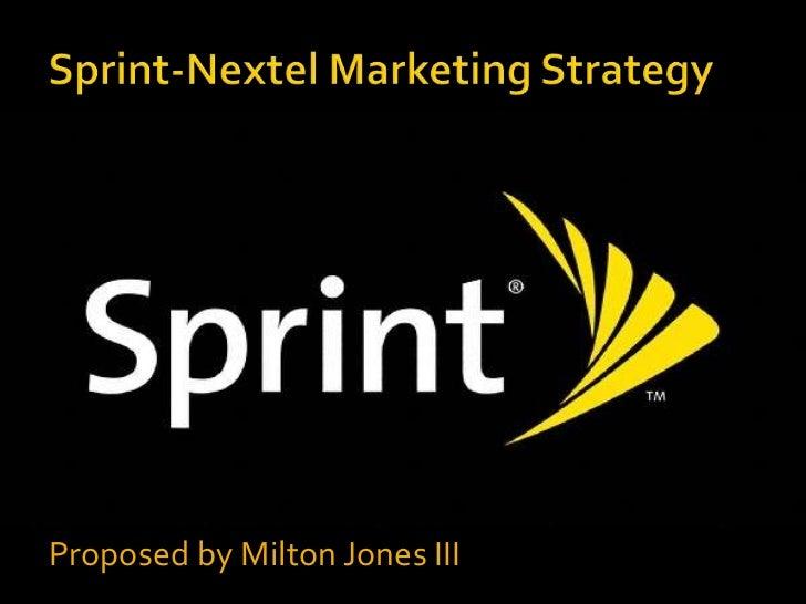 Sprint Marketing Campaign