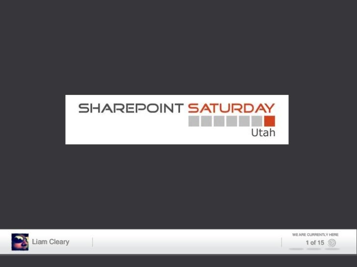 SharePoint Saturday Utah - The Art of the Possible Keynote