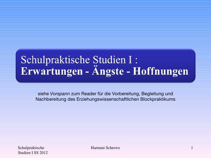 Powerpoint - Präsentation zum Seminar SPS1 2012