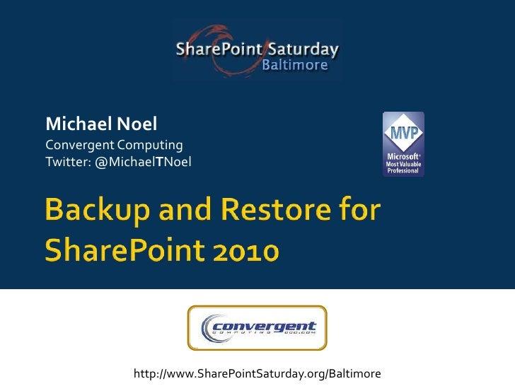 Sps baltimore backupand_restore-dpm