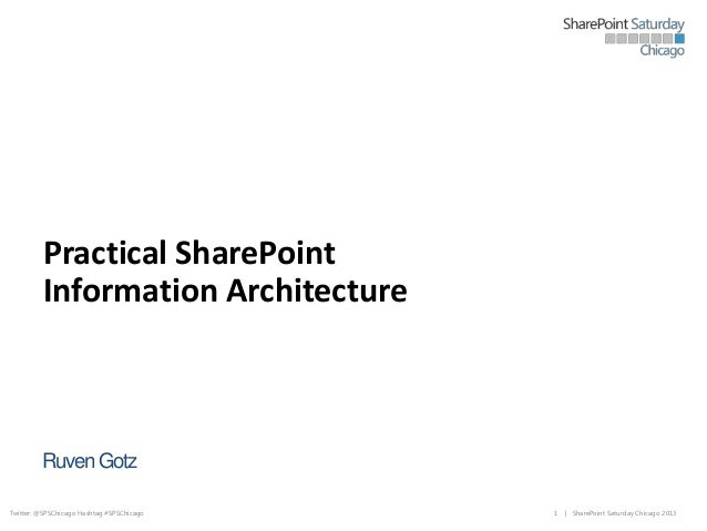 SPS Chicago - Practical Information Architecture