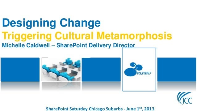 SharePoint Saturday Chicago Suburbs - June 1st, 2013SPS EVENTSChicago-SuburbsDesigning ChangeTriggering Cultural Metamorph...