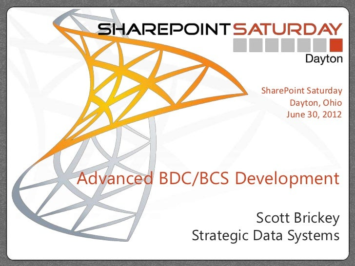SharePoint Saturday Dayton 2012