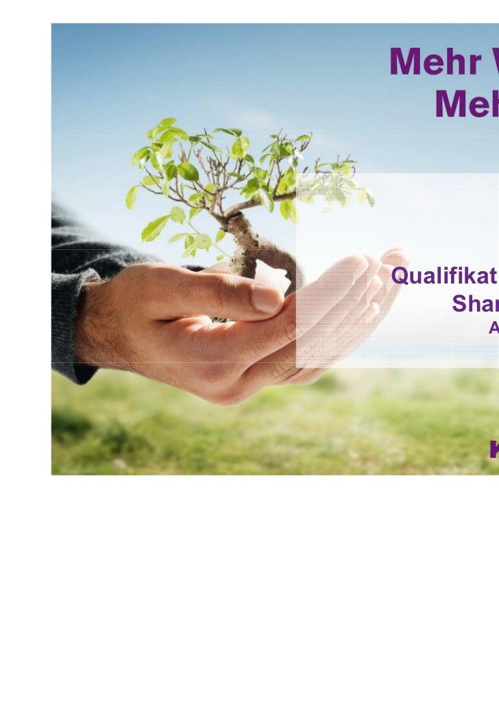 Communardo SharePoint Solution Day - Qualifikationskonzept SharePoint 2010