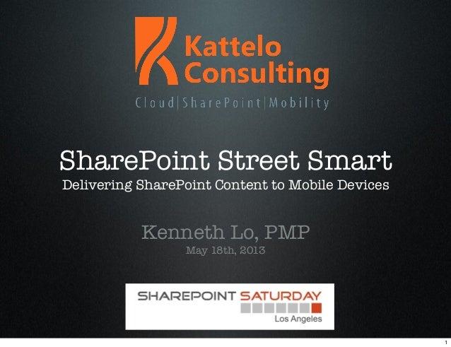 SPSLA - SharePoint Street Smart