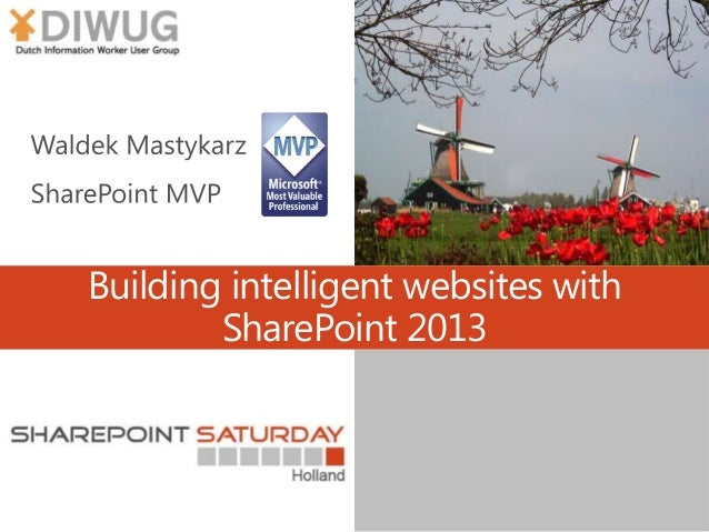 Building intelligent websites with SharePoint 2013