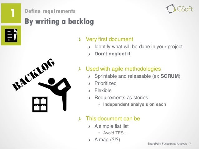 How to write functional document