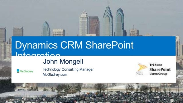 SharePoint Saturday Philly CRM and SharePoint  - Better Together