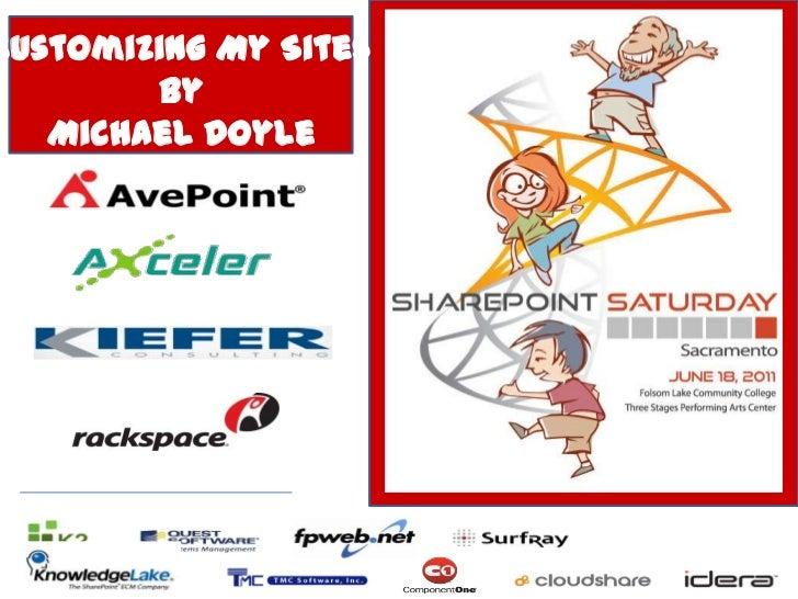 Customizing My Sites - SPSSAC