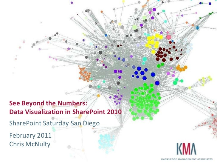 See Beyond the Numbers:Data Visualization in SharePoint 2010<br />SharePoint Saturday San Diego<br />February 2011Chris Mc...