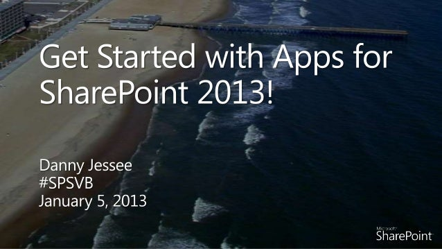 Get Started with Apps for SharePoint 2013