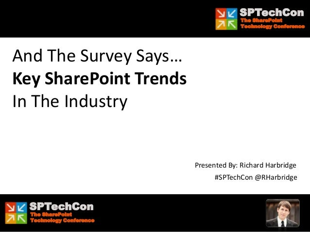 And The Survey Says... Key SharePoint Trends In The Industry