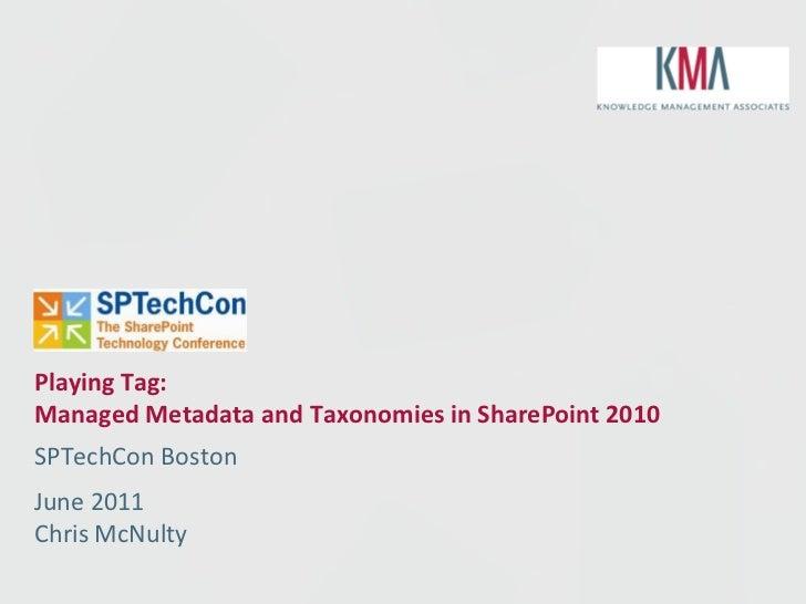 Sptechcon2011 mms2010