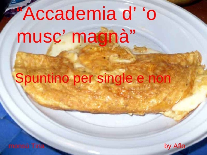 Spuntino per single e non