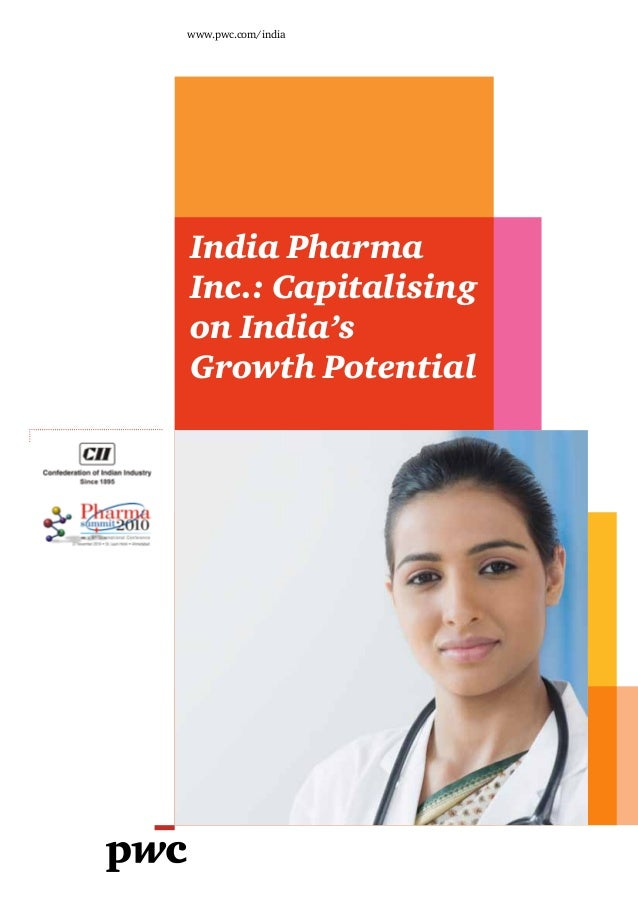 PWC CII-pharma-summit-capitalising on indias growth potential