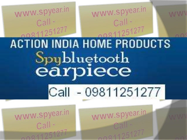 Spy Bluetooth Earpiece in Delhi